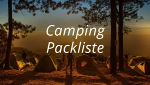 Packliste-Camping