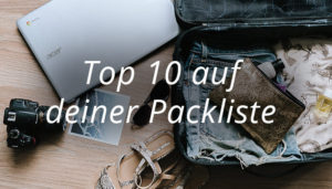 Packliste Top 10